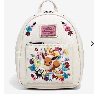 Loungefly Pokemon Eeveelutions floral mini backbac
